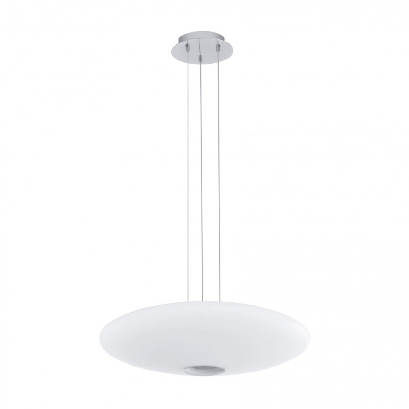 LED-HL 18W OPAL-MATT/CHROM 'MILEA 1'