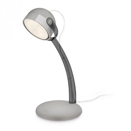 DYNA Настольна лампа LED grey 1x4W 230V PHILIPS 674139916