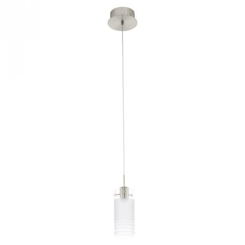 LED-HL/1 NICKEL-M/SAT-KLAR 'MELEGRO'