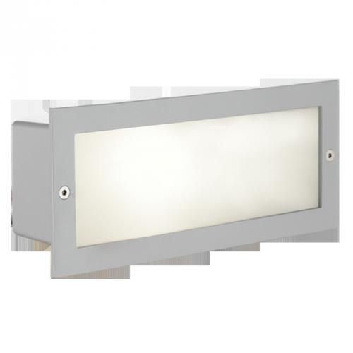 Світильник вул.вбудован/1 E27 60W срібний 1x60 W E27
