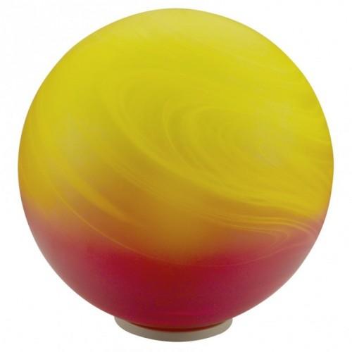 """Настільна лампа/1 60W E27 срібний/червоний """"Мілагро"""""""