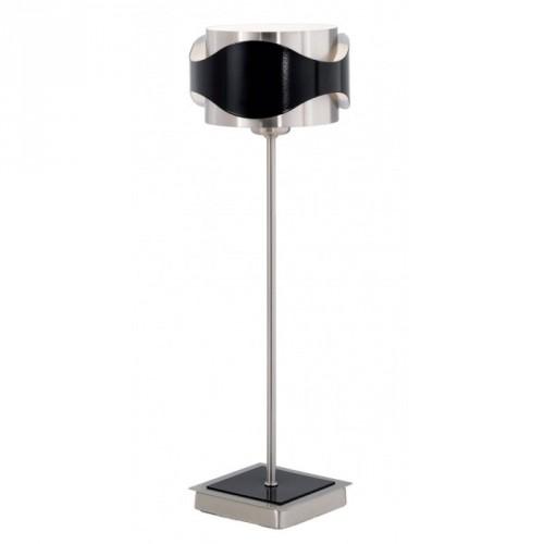 """""""Кетвок"""" настільна лампа 1x40 W G9 нікель-мат/чорний EGLO"""