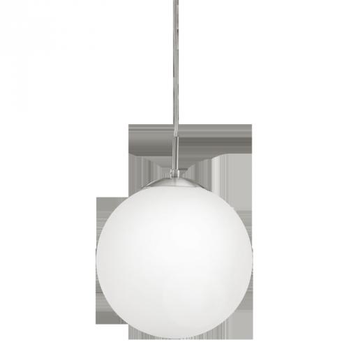 """Світильник підвіс/1 1x60WE27DM250 нікель-мат/опал """"Рондо""""13973"""
