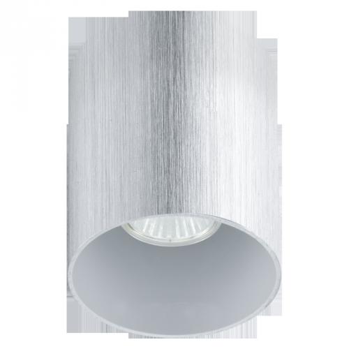 """Світильник вбудований в стелю/1 35W GU10  прозорий/сатин """"Б"""