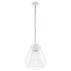 HL/1 GX53-LED WEISS/ROT 'PIASTRE'