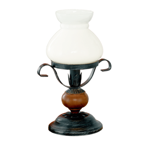 """Настільна лампа/1 60W E14 коричневий """"Рустік 7"""""""