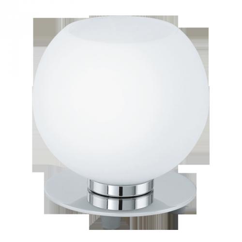 """Настільна лампа/1 40W E14 хром/опал """"Бучіно"""""""