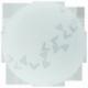 Світильник стельовий/1х60W  Е27 DM245 сатин з малюнком'Марс
