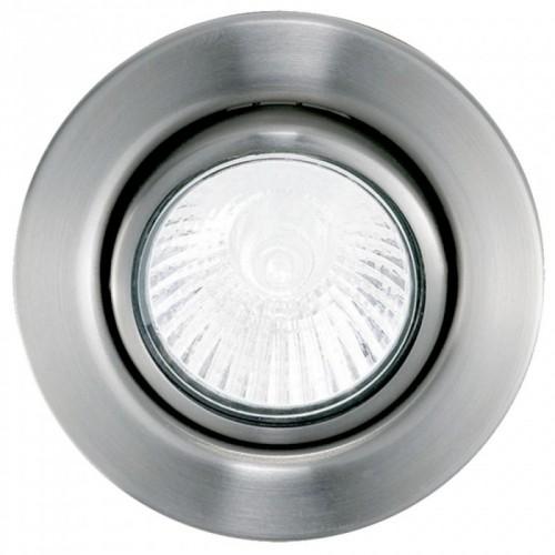Світильник спот GU10 1х50W никель