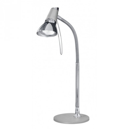 Настільна лампа/1х50W GU10 срібний/хром'Леон1'