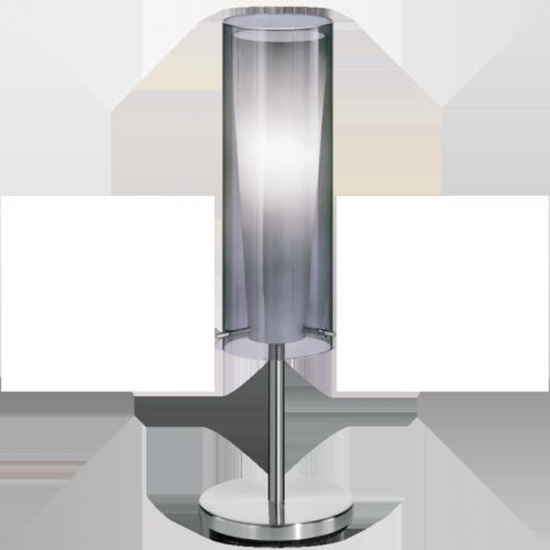 "Настільна лампа/1 60W E27 нікель-мат ""Пінто Неро"""