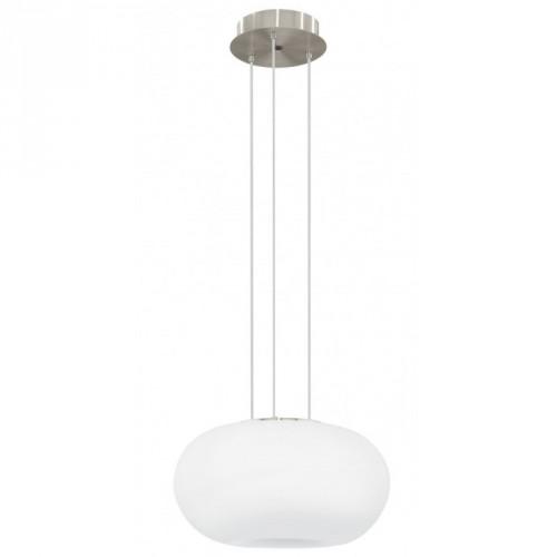"""Світильник підвіс/2 18W E27  17W LED нікель-мат/опал """"Галак"""