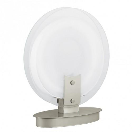 """Н'ю Ейдж"" настільна лампа  1x22 W T5 нікель-мат EGLO"