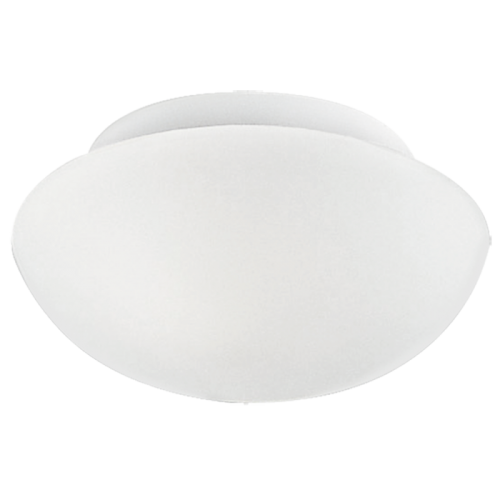 Світильник стельовий/1х60W E27 DM200 скло опал 'Ела'