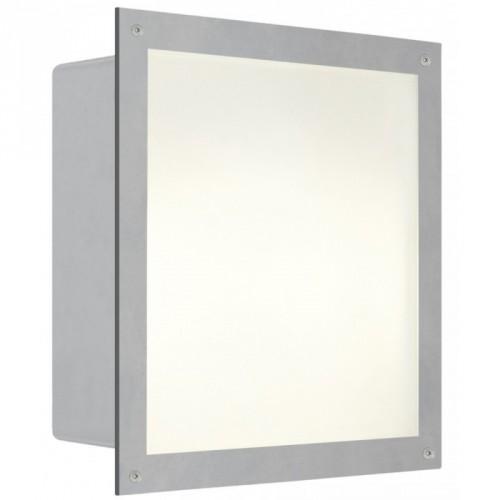 Світильник вул.вбудован/1 E27 60W срібний 1x100 W E27