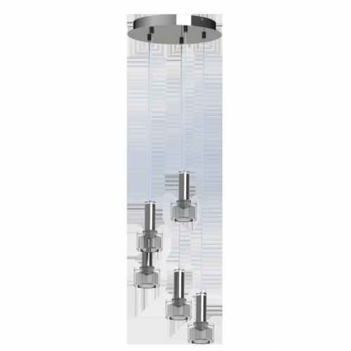 LED-HL/3 CHROM/SATINIERT-KLAR'FABIANA 1'