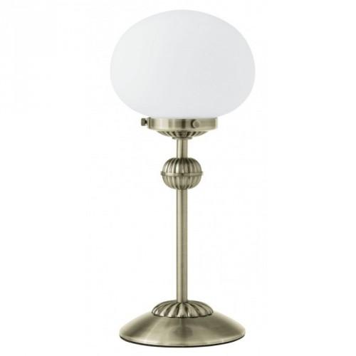 "Настільна лампа/1 60W E27 бронза/опал ""Фернандес"""