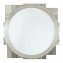 """Світильник стельовий LED 12W нікель-мат """"Лед Ареззо"""""""