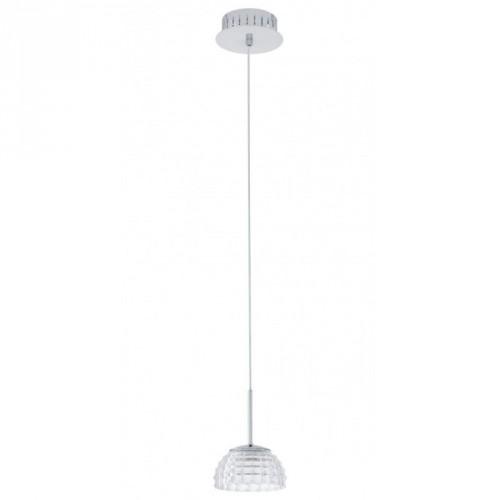 """Світильник підвіс/1 6W LED хром/прозорий """"Фроссіні"""""""