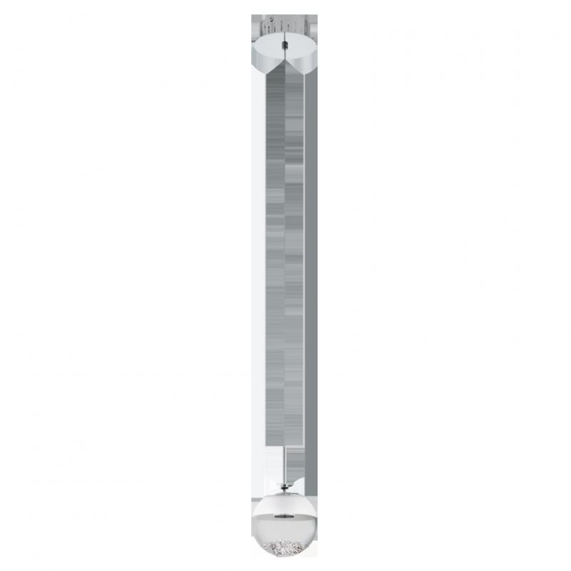 """Світильник підвіс/1 5W LED хром/прозорий """"Монтефіо 1"""""""
