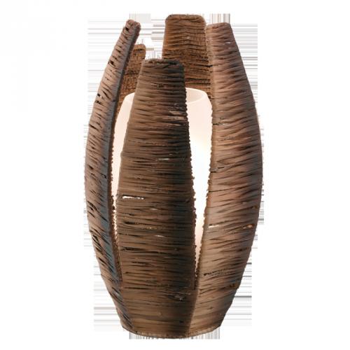 """Настільна лампа/1 60W E27 коричневий """"Монгу""""(51878)"""