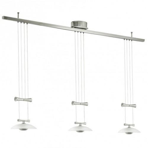 """Світильник підвіс/3 50W GY6,35 нікель-мат/сатин """"Зелес 1"""""""