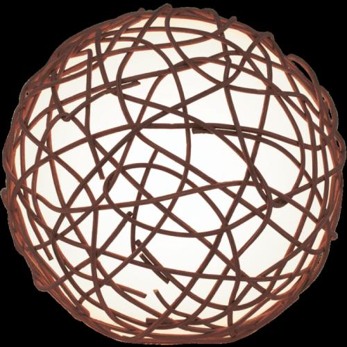 """Настільна лампа/1 40W E14 коричневий/білий """"Намбія"""""""