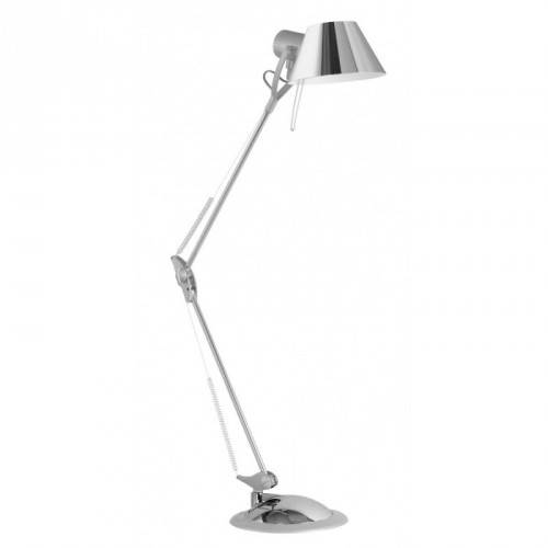 """Офіс""наст.лампа база+струбц.1*60W E27  хром EGLO"