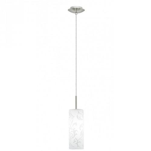 """Світильник підвіс/1 Е27 нікель-мат з декором """"Амадора""""13979"""