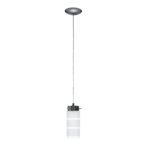 """Підвіс/1 GX53-LED прозорий сатин """"Ольверо"""""""