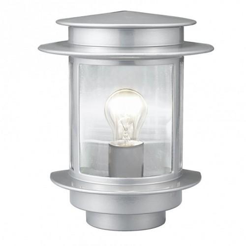 """""""Екзіт""""вуличний світильник  1x60W E27  сріблястий  EGLO"""