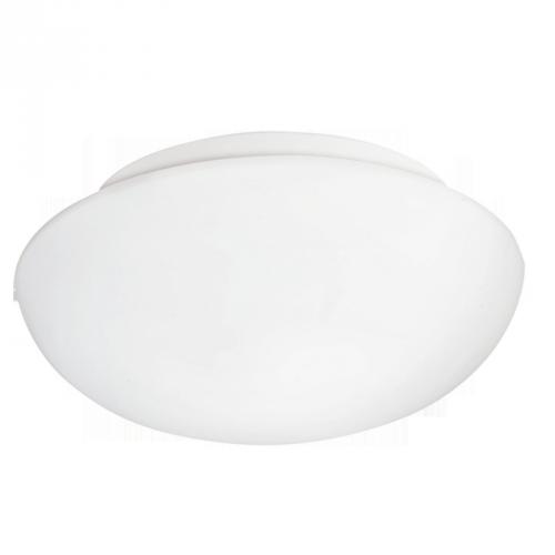Світильник стельовий/1х60W E27 DM280 скло опал 'Ела'