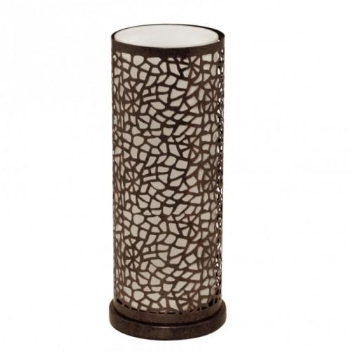 """Настільна лампа""""Альмера""""1X60W E27 античн.коричневий/шампаньEGLO"""