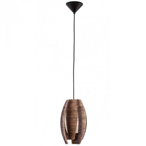 """Світильник підвіс/1  60W E27 коричневий """"Монгу""""(51876)"""