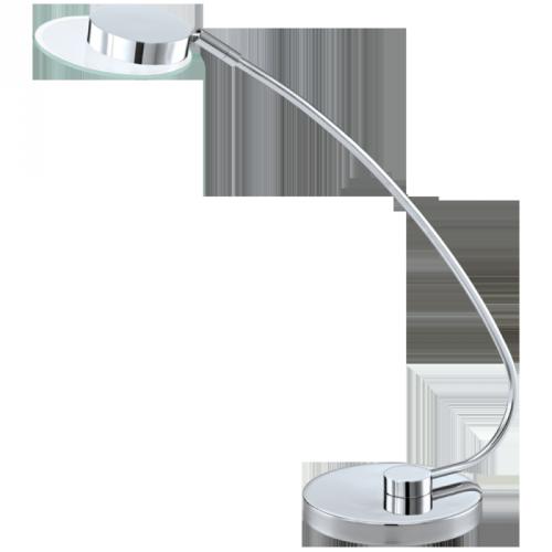 """Настільна лампа/1  4,76W LED хром/сатин """"Хаєт 1"""""""