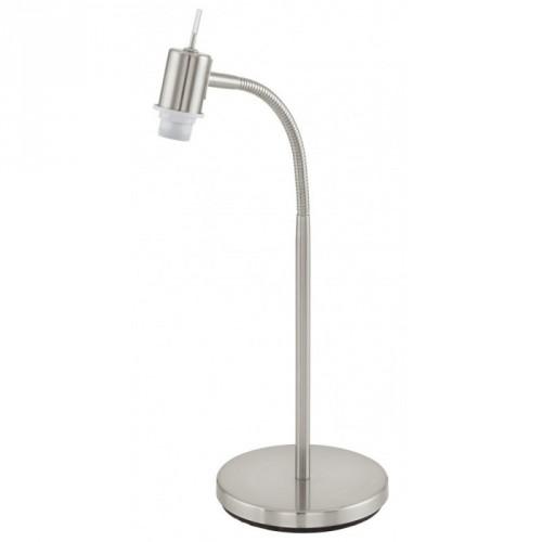 Настільна лампа/1 9W E14 нікель-мат/хром Май Чойс
