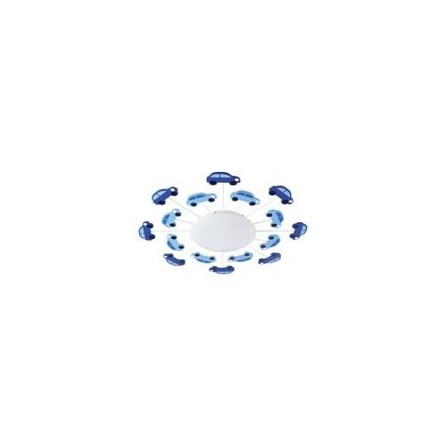 """Світильник стельовий/1 60W E27 синій/білий """"Вікі 1"""""""