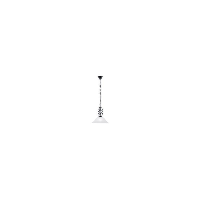 """Світильник підвіс/ 1 60W E27 чорний/коричневий """"Мурсія"""" (51"""