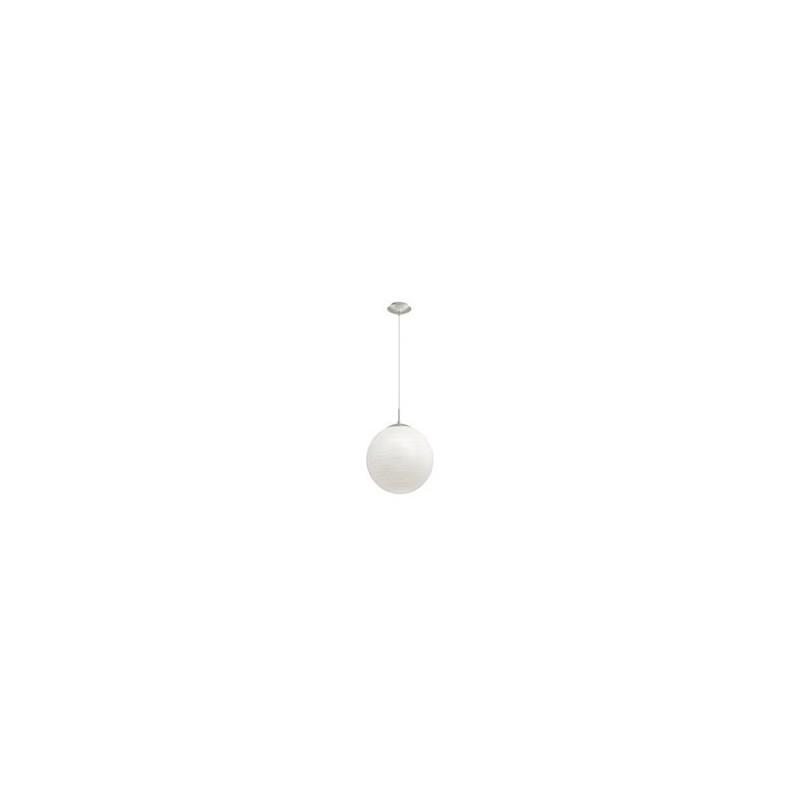 """Світильник підвіс/1 DM300  Е27  60W срібний/хром-білий """"Мілагро"""""""