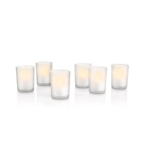 PHILIPS 69126/60/PH LED набір 6х свіча настільний світильник