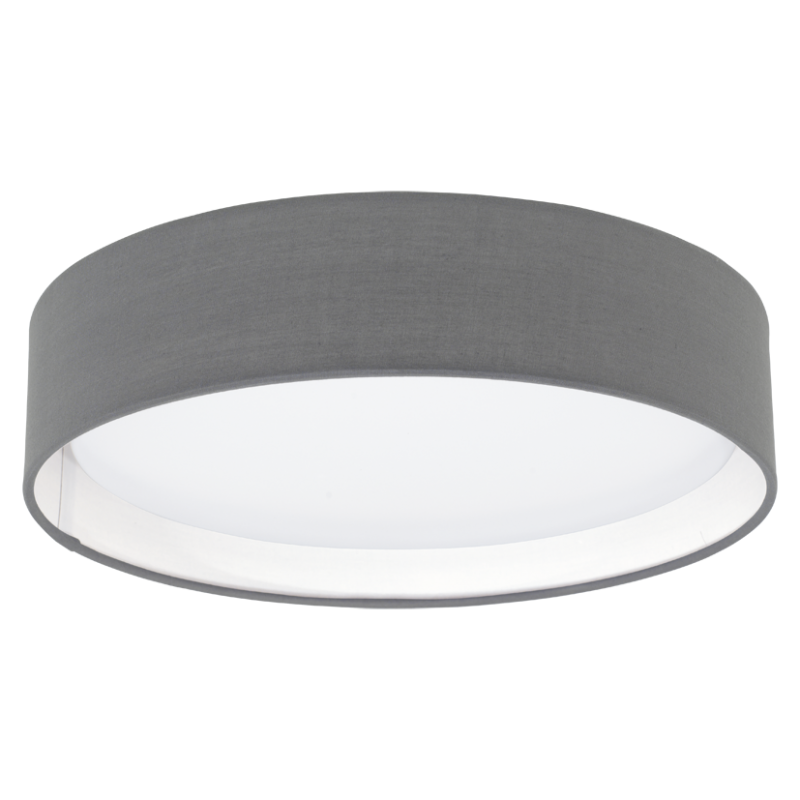 LED-DL Ø320 GRAU-MATT 'PASTERI'