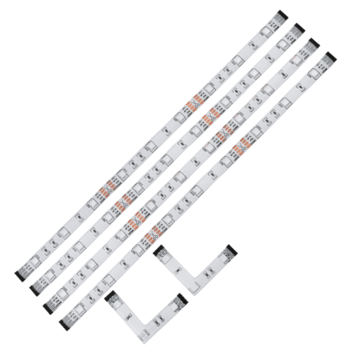 Світильник підсвiтка LED /4 2,16W (9LED)  1200mm