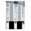 """Люстра/3 7W GX53-LED нікель.чорн/прозор.-сатин """"Ольверо"""""""