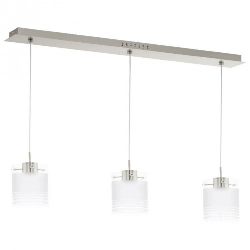 LED-HL/3 NICKEL-M/SAT-KLAR 'MELEGRO'